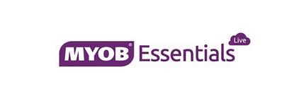 MYOB Essentials Live Logo